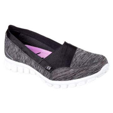 Sapatilha Feminina Skechers Fascination ez Flex 2 Preto