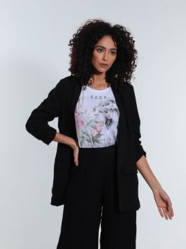 Blazer Lily Fashion Preto