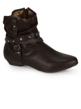 Ankle Boots Mooncity Marrom
