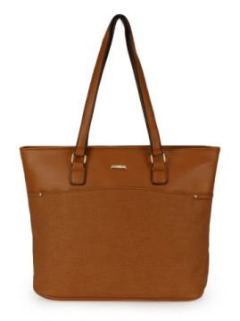 Bolsa Shopping Bag Gash Caramelo