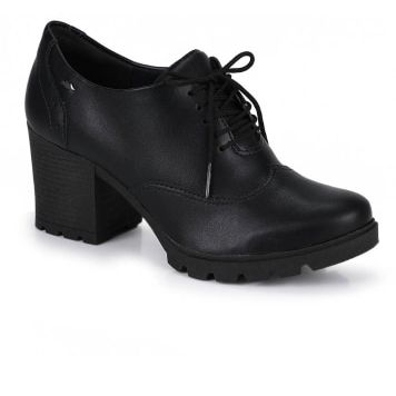 Sapato Salto Oxford Dakota Preto