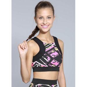 Top Cropped Feminino Isaac Silva - Estampado
